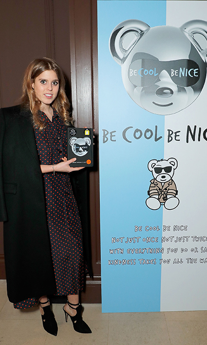 Princess Beatrice attended an event to celebrate the anti-bullying campaign 'Be Cool, Be Nice' on Jan. 31.