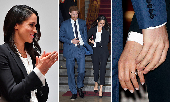 On Feb. 1, Prince Harry and Meghan Markle stepped out for their first joint red carpet event, honouring a cause close to Prince Harry's heart by making speeches and presenting honours at the Endeavour Fund Awards ceremony in London's Goldsmiths' Hall. The event took place just four months before the couple's royal wedding on May 19. Click through for all the best photos from their glitzy night out...