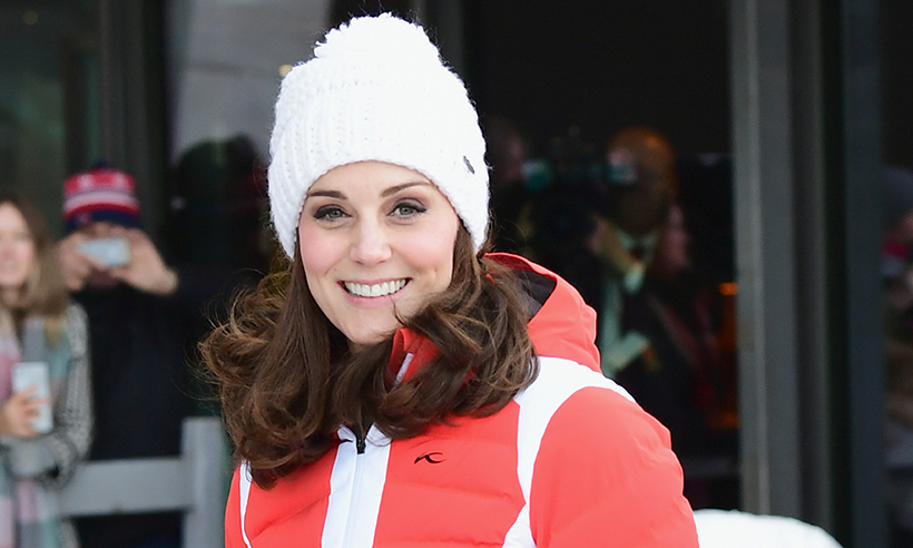 cb49bd91d88 Duchess Kate was sporty yet chic at the slopes in Norway