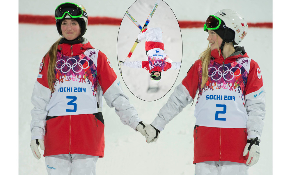 <h2>Justine and Chloé Dufour-Lapointe</h2>