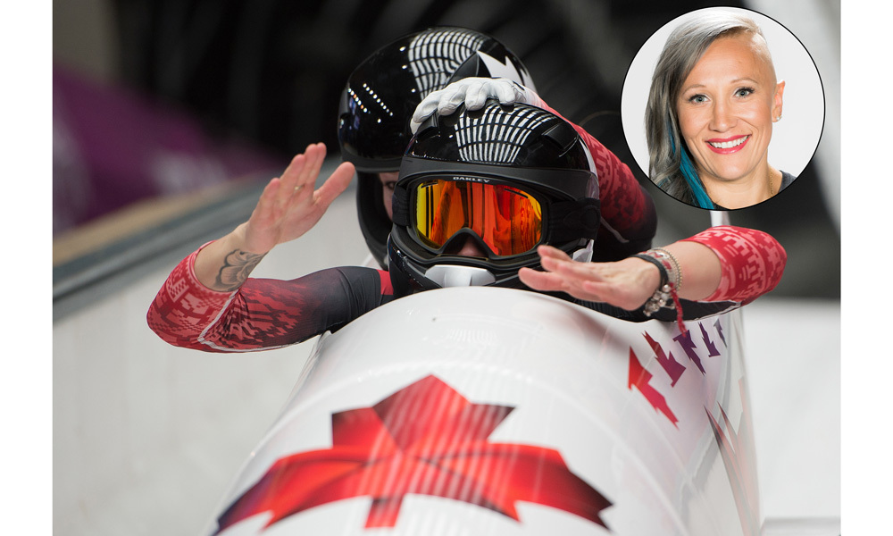 <h2>Kaillie Humphries</h2>