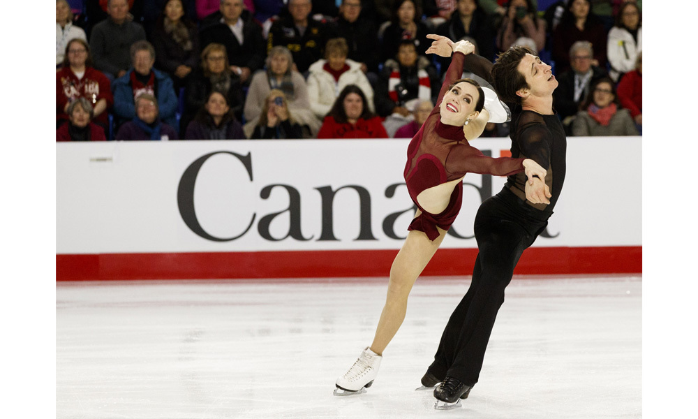 <h2>Tessa Virtue and Scott Moir</h2>