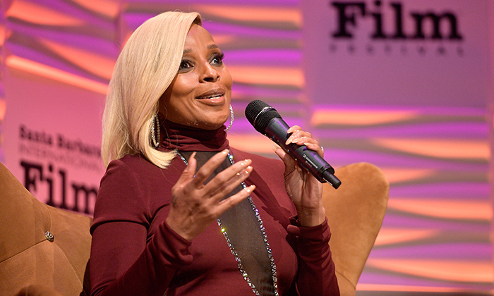 <em>Mudbound</em> star Mary J Blige was honoured with a Virtuoso Award at the 33rd Santa Barbara International Film Festival on Feb. 3.