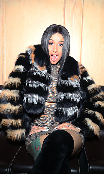 Cardi B lit up the Rolling Stone Live: Minneapolis party in Minnesota on Feb. 2, where her fiance Offset performed. The Migos member gave his fiance a $500,000 8-carat engagement ring back in October.