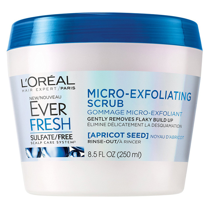 <p>This sulfate-free scrub uses crushed apricot seeds to manually slough away impurities and buildup that can weigh down hair.</p>