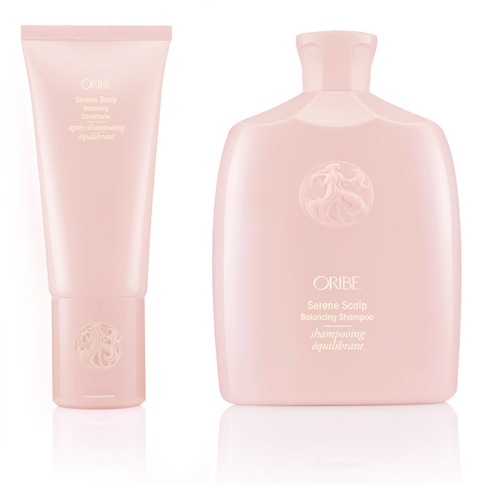 <p>This gentle shampoo taps salicylic acid to exfoliate flakes, while the conditioner uses shea butter to add moisture to parched strands.</p>
