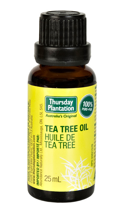<p>Tea tree oil is a natural remedy used to treat various hair issues like dryness and itchiness. Mix a few drops with a carrier oil like almond, jojoba or coconut and massage into the scalp.</p>