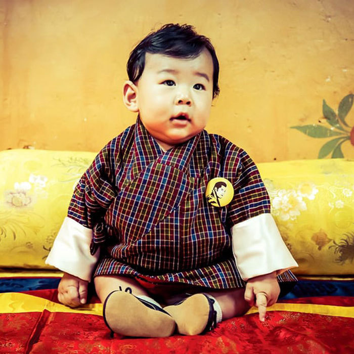 "<p>Attached to the new images was a message that read: ""Our September calendar is a treat, featuring these adorable images of His Royal Highness The Gyalsey, as photographed by His Majesty The King."" It continued, ""It is a joy to see our little Prince growing up so quickly, and touching to see him already begin to carry our Royal Duties.""</p>