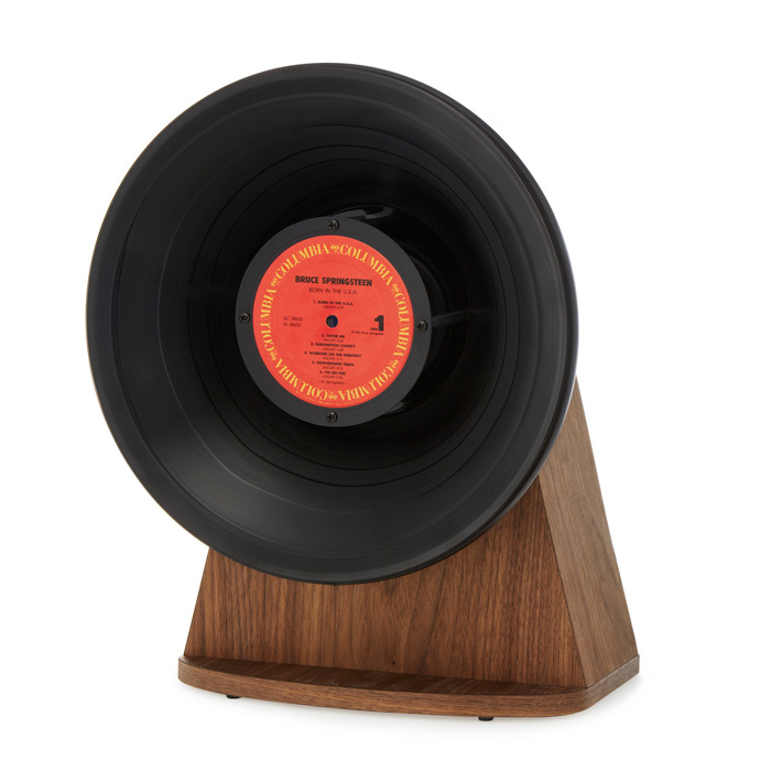 "<p><strong>Vintage Vinyl Bluetooth Speaker</strong>, $280, <a href=""http://uncommongoods.com"" target=""_blank""><em>uncommongoods.com</em></a></p>"