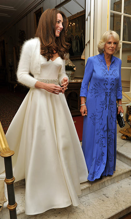 <h2>The bride's second wedding dress</h2>