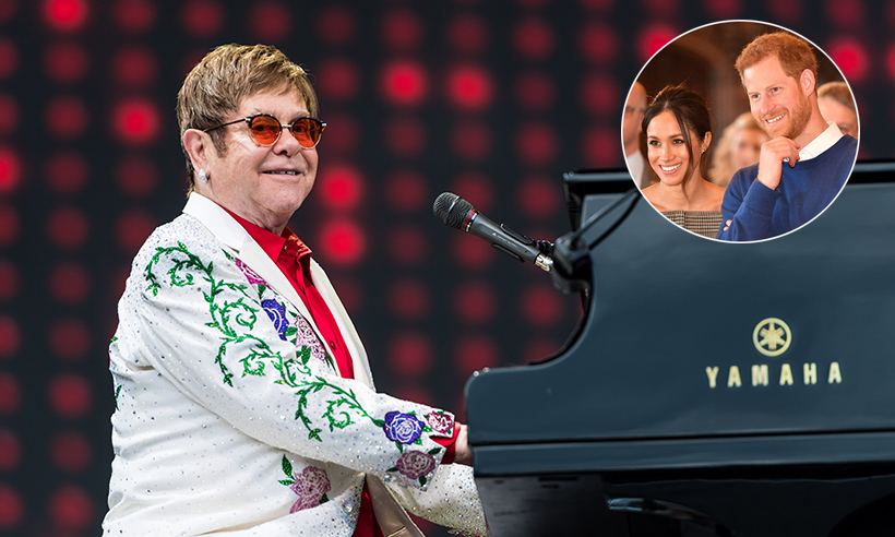 Royal Wedding Cancelled.Elton John Has Cancelled Two Tour Dates To Attend Prince Harry And