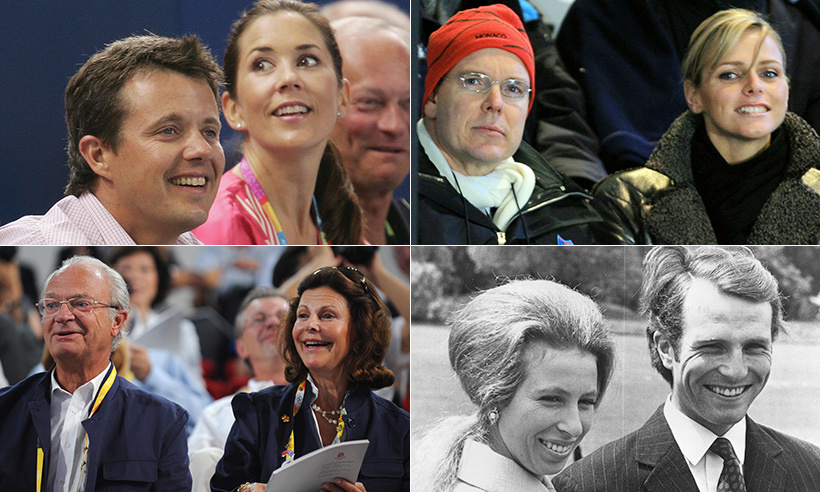Click through to see all the royals who found love at the Olympics, from Princess Mary to Princess Anne!