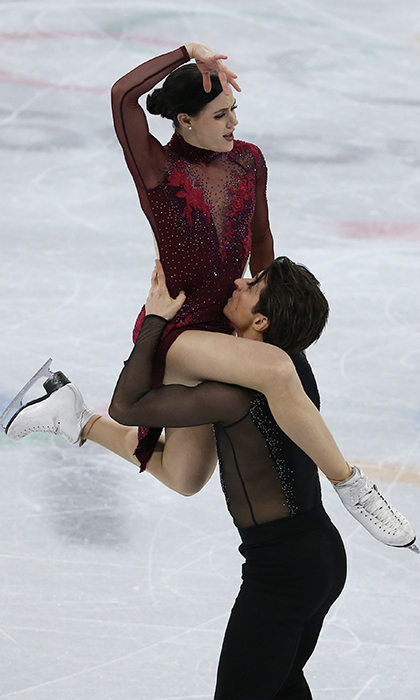Tessa Virtue and Scott Moir performed some of the most incredible acts on ice during their gold-winning skate.