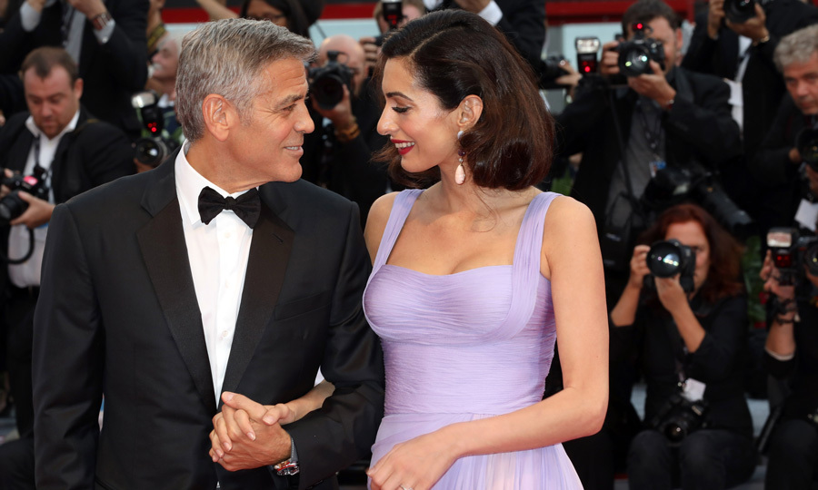 <h2>George & Amal Clooney</h2>