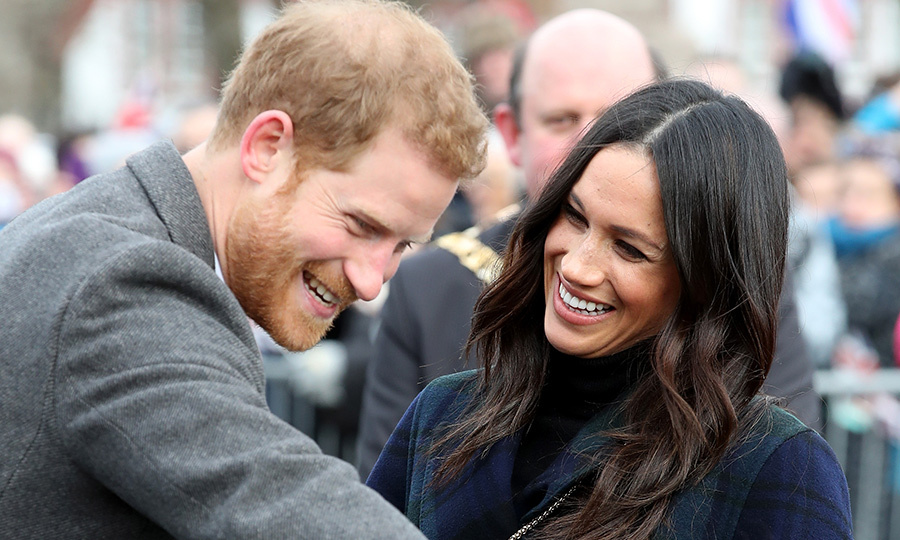 <b>Prince Harry and Meghan Markle arrived in Edinburgh Scotland to mark their second royal engagement of the year! The royal couple, who are set to wed on May 19, had some fun with royal watchers, said hello to an adorable pony, visited social welfare organization Social Brite, and much more!