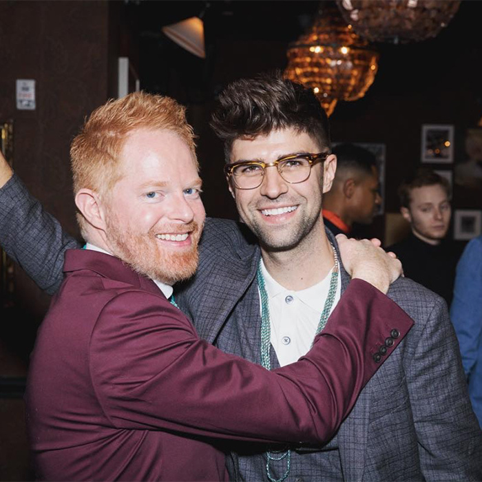 "How adorable are Jesse Tyler Ferguson and Justin Mitika?! Justin took to social media to declare his love, ""my funny valentine ❤️"".""