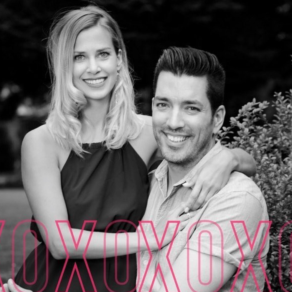 Jonathan Scott shared a gorgeous black-and-white snap with his wife for Cupid's day.