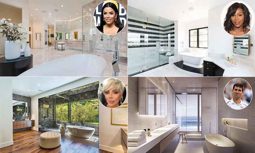 "<p>​Fitted with free-standing bathtubs, spacious walk-in monsoon showers and luxurious vanity areas, these celebrity bathrooms are the stuff of dreams! Some of our favourite stars including <a href=""/tags/0/angelina-jolie""><strong>Angelina Jolie</strong></a>, <a href=""/tags/0/james-corden""><strong>James Corden</strong></a>, <a href=""/tags/0/kris-jenner""><strong>Kris Jenner</strong></a> and <a href=""/tags/0/serena-williams""><strong>Serena Williams</strong></a> have pulled out all the stops when it comes to choosing the perfect master suite, with design details and fittings that could mean they're easily mistaken for a luxurious spa. Here are some of the most beautiful celebrity bathrooms – perfect for design inspiration (and maybe a little bit of home envy).</p>"
