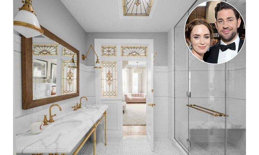 <h2>Emily Blunt and John Krasinski</h2>