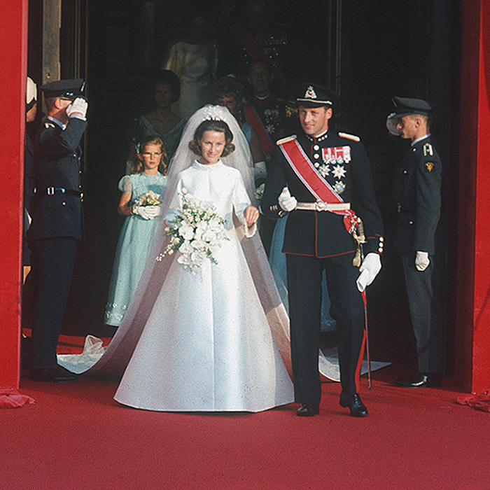 <h2>King Harald V and Queen Sonja of Norway</h2>
