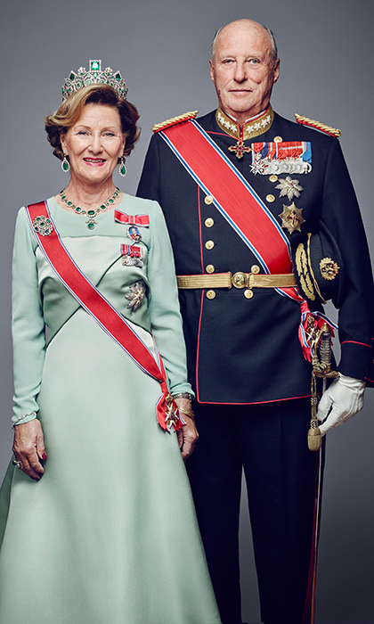 "<p>NOW: The royal couple has been together through happy times as well as tragedy. Harald and Sonja were married for less than two years when she lost her first child, a baby boy, halfway through her pregnancy, having only recently announced her expectant status to the Norwegian public. ""Fortunately I was able to have more healthy children,"" said the Queen in a 2016 interview. Sonja gave birth to daughter Princess Martha Louise in 1971 and welcomed Crown Prince Haakon in 1973. Here, the long-lasting couple, who will celebrate their 50th wedding anniversary in 2018, pose for an official portrait in 2016.</p>