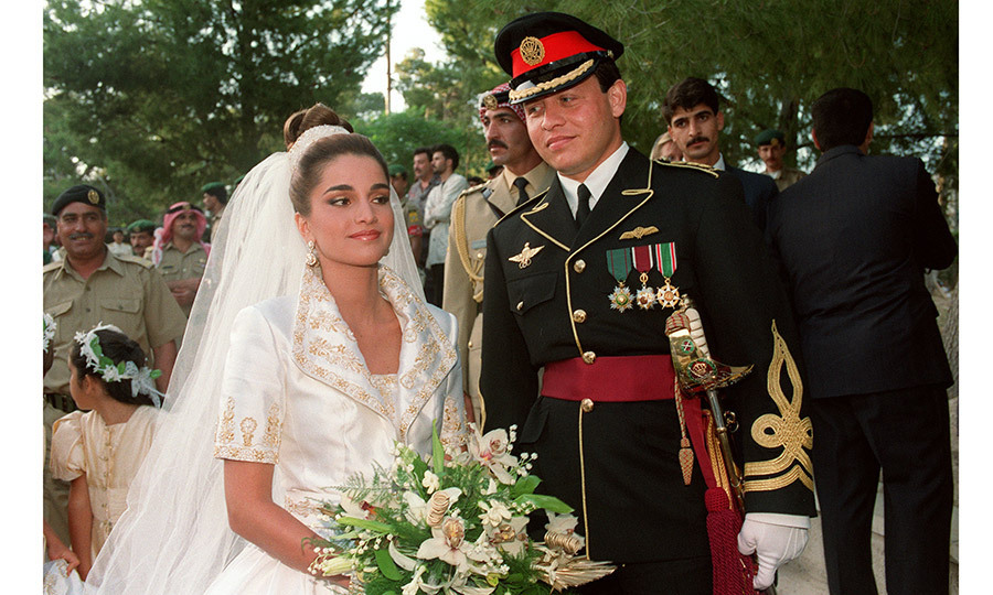 <h2>King Abdullah II and Queen Rania of Jordan</h2>
