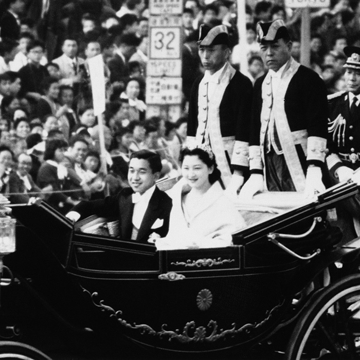 <h2>Emperor Akihito and Empress Michiko of Japan</h2>