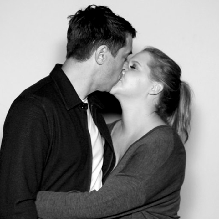 <h4>Amy Schumer and Chris Fischer</h4>