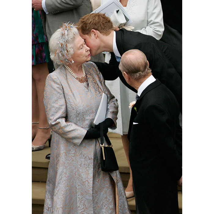 "<p>Harry has previously opened up about <strong><a href=""/royalty/02016041225323/prince-harry-queen-90th-documentary-boss/"">his relationship with his grandmother</a></strong>. ""I still view her more as the Queen than my grandmother,"" he said on BBC show, <em>Elizabeth At 90 – A Family Tribute</em>.</p>