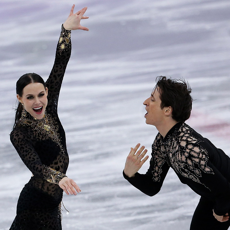 According to reports, another win for the pair - who already have three Olympic medals - will make them the most decorated skaters in the history of the games!
