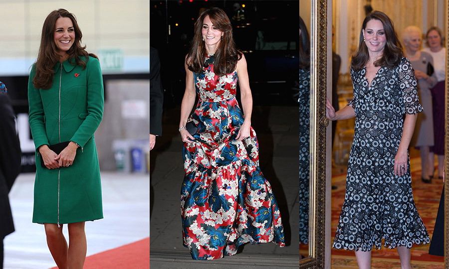 Erdem, best known for fabulously feminine florals, was founded by Canada-born designer Erdem Moralioglu in 2005. Famous fans of the brand range from Meghan Markle to Sarah Jessica Parker and, of course, the Duchess of Cambridge, who has made Erdem's creations wardrobe staples for her official engagements. Scroll through to see Kate's best Erdem looks.