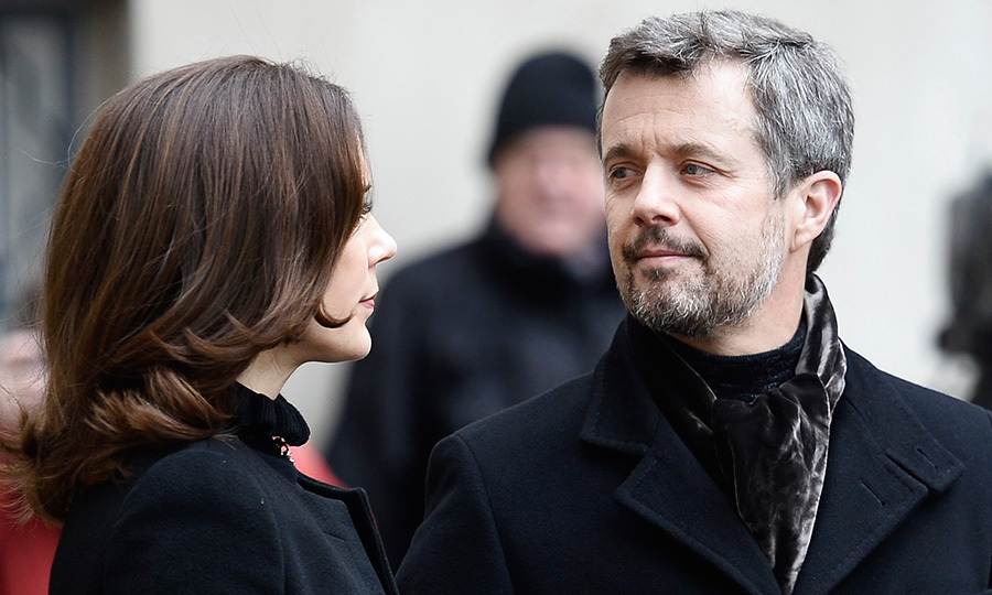 <p>On February 17, Denmark's future king, Crown Prince Frederik, shared a moment with his wife Crown Princess Mary at the Christiansborg Palace Church in Copenhagen, where his late father Price Henrik was lying in <em>Castrum Doloris</em>. </p>