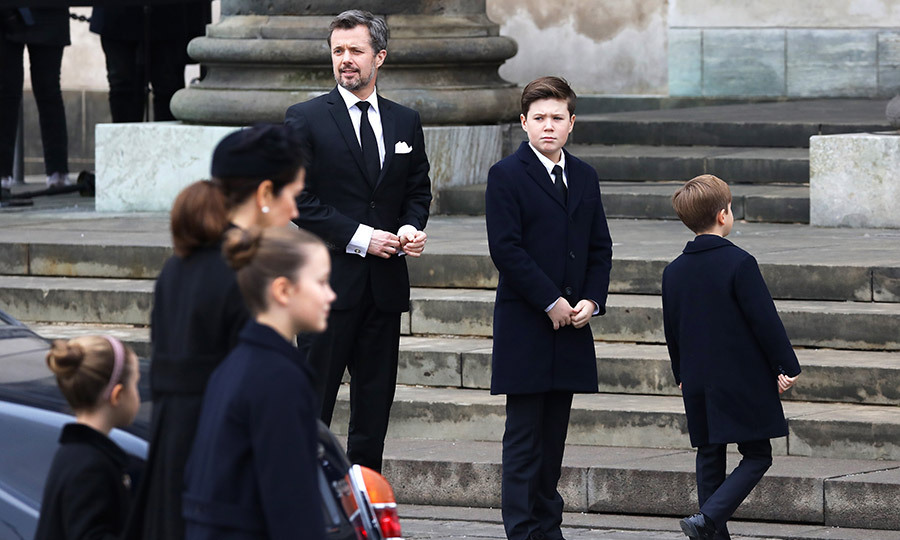 <p>Prince Frederik had arrived with Crown Princess Mary and their four children: Prince Christian, Princess Isabella and twins Prince Vincent and Princess Josephine.</p>