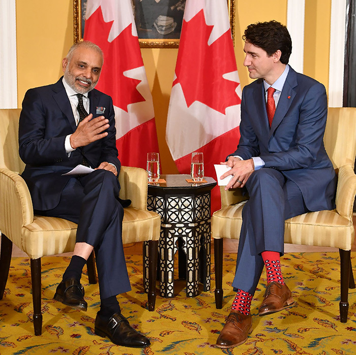 The Prime Minister spent much of Feb. 20 meeting with business leaders in Mumbai, where he announced a new billion-dollar deal with India to bring 5,800 new jobs to Canada. 