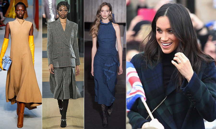 "<p><a href=""/tags/0/meghan-markle""><strong>Meghan Markle</strong></a> may still be loyal to Canadian fashion labels like LINE and Mackage, but she's also shown love to British designers. Now that she's officially moved across the pond, we're likely to see her wear more homegrown labels. What better place to look for inspiration than the fall collections at <a href=""/tags/0/LFW""><strong>London Fashion Week</strong></a>? These standout designs would be perfect for the royal-to-be. Click through to see our top picks for Meghan...</p>"