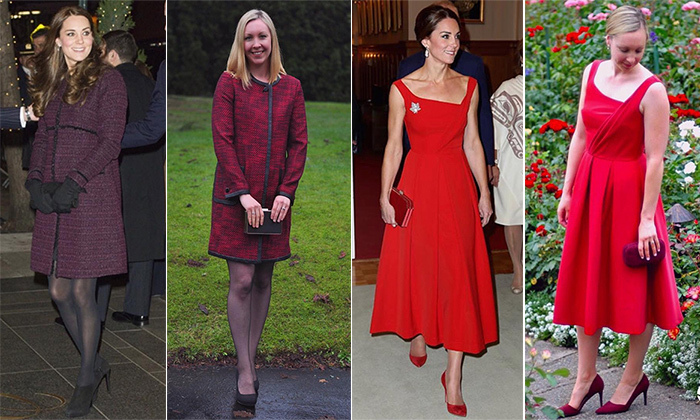 Canadian blogger The Budget Duchess recreates Kate Middleton's looks for $100 or less
