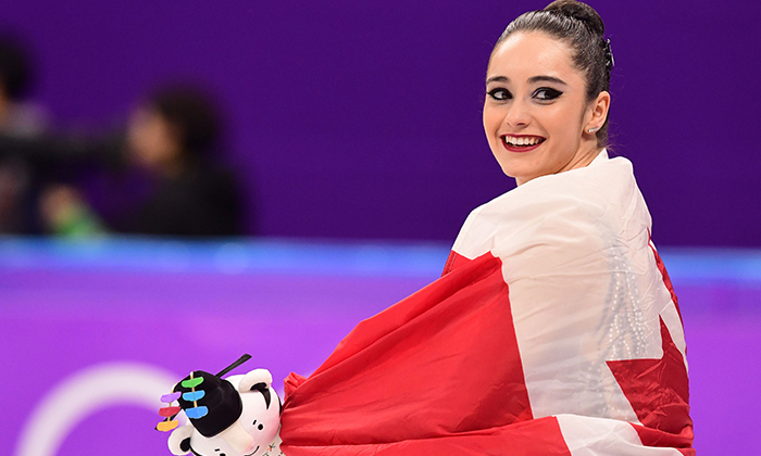 Seven months after winning silver at Sochi, Kaetlyn injured her leg and required two surgeries. Just four years later, the decorated skater made history as she helped Canada win its 27th medal in the Pyeongchang games - she is the  sixth Canuck women's figure skater to win an individual medal, which hasn't been done since her idol Joannie Rochette took bronze in 2010 at the Vancouver games.