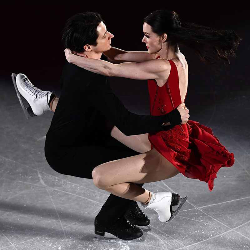This is likely to have been Tessa and Scott's final Olympic Games, and their beautiful Canadian moment was the perfect goodbye. For the partners of 20 years, it's been a long time coming and a long time running - and the world can't wait to see what they do next!