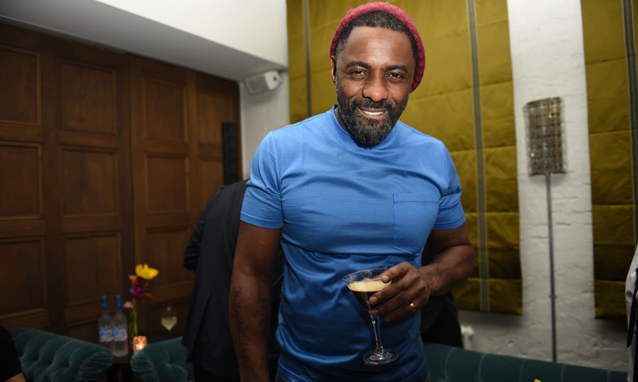 Newly engaged Idris Elba had a lot to smile about after screening his directorial debut <em>Yardie</em> at the Berlin Film Festival. The director attended his film's intimate after-party hosted by Grey Goose with his fiancée Sabrina Dhowre.