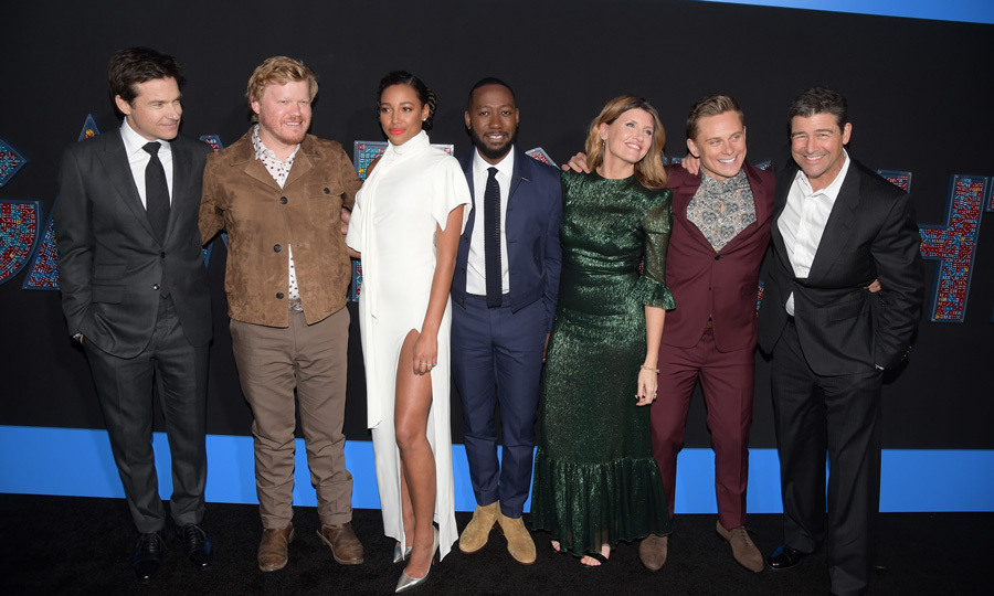 <p>The cast of <em>Game Night</em> - Jason Bateman, Jesse Plemons, Kylie Bunbury, Lamorne Morris, Sharon Horgan, Billy Magnussen and Kyle Chandler - came together for their L.A. premiere in style. Their co-star Rachel McAdams, who is reported to be quite pregnant, was noticeably absent.</p> 