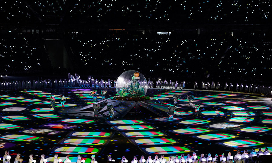 The closing ceremony on Feb. 25 was a mind-blowing display of talent and artistry.