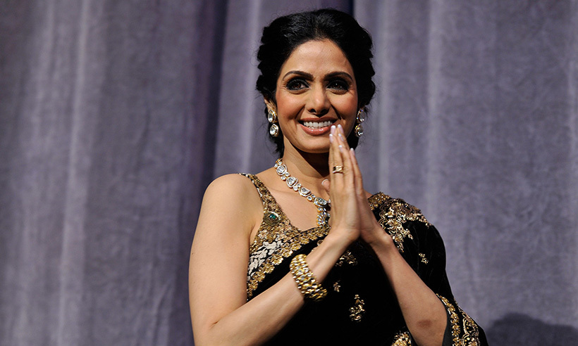 <h4>Sridevi Kapoor - February 26</h4>