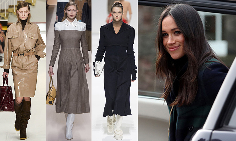 <p>Milan Fashion Week just wrapped up with offerings running the gamut of covetable ensembles. Shows like Alberta Ferretti, Salvatore Ferragmo and Tod's were a wealth of sartorial inspiration, giving us a roll call of looks that could easily belong in the future royal's wardrobe.</p>