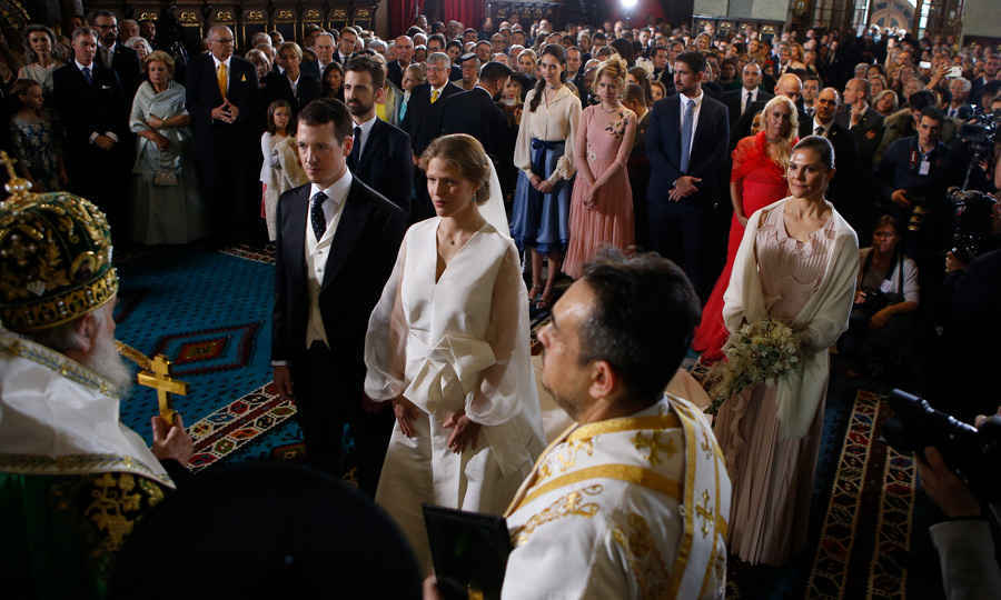 The couple wed in Belgrade in October 2017, less than five months before they welcomed their bundle of joy. A number of international royals were in attendance on their big day.