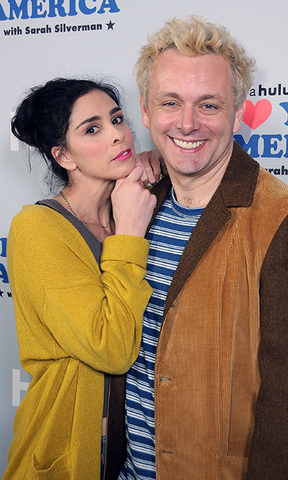 <h2>Sarah Silverman and Michael Sheen</h2>