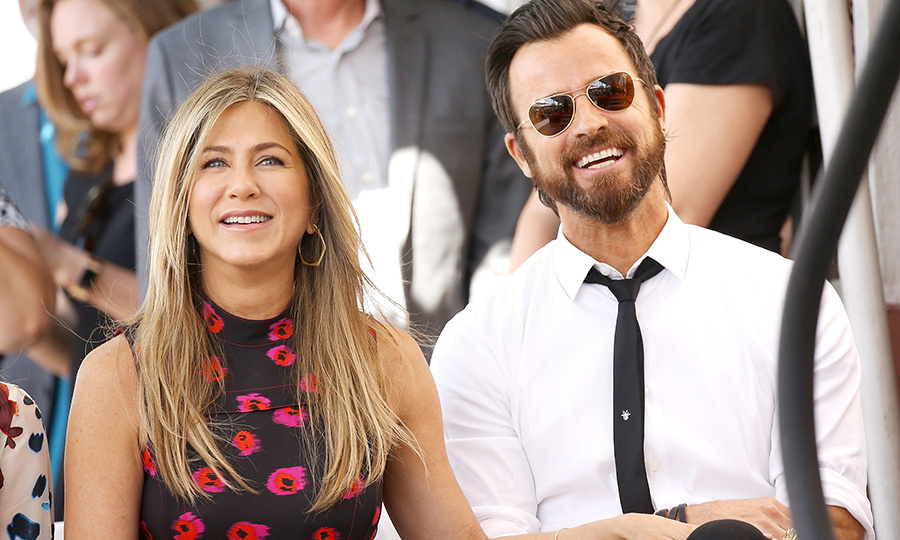 <h2>Jennifer Aniston and Justin Theroux</h2>
