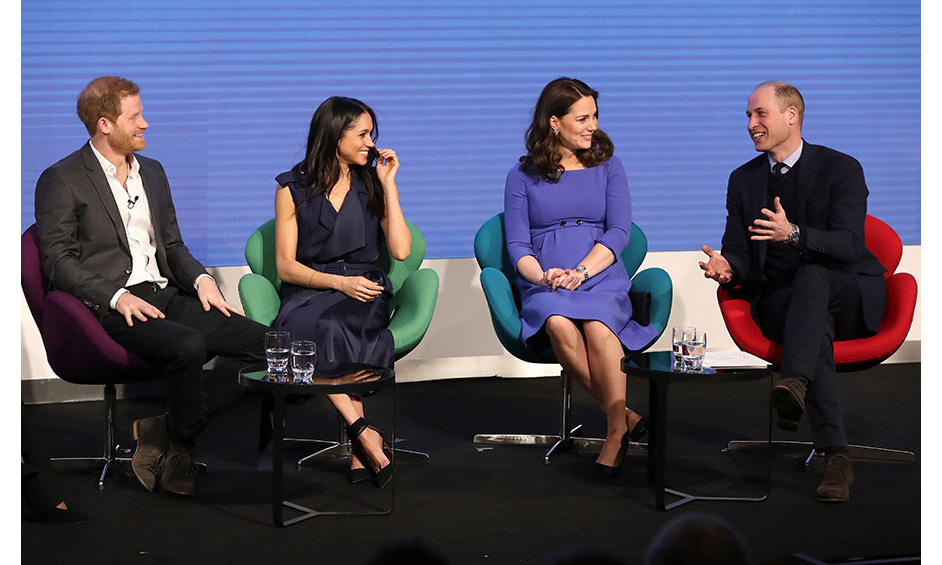 <p>Prince Harry, Meghan, Kate and Prince William haven't been photographed together since Christmas Day in 2017, when they joined other members of the Royal Family for the annual church service in Norfolk.</p>