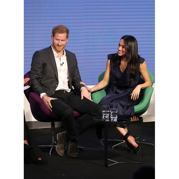 "<p>Prince Harry joked about the tribulations of joining forces with family, saying, ""working as family does have its challenges of course it does... the fact everyone is laughing means you know exactly (what I mean) - but we're stuck together for the rest of our lives.""</p>