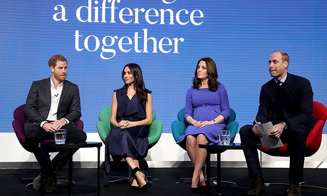 "Prince Harry, Meghan Markle and the Duchess and Duke of Cambridge attended their first ever official royal outing for an event called ""Making a Difference Together"" on Feb. 28. The quad - now dubbed the 'Fab Four' - opened up about Heads Together, the Invictus Games and other causes close to their hearts.