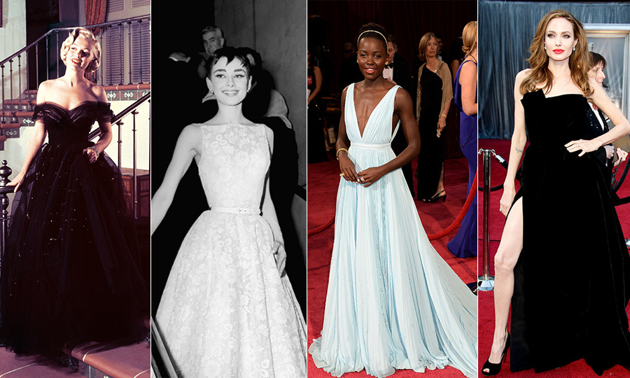 oscars 2018 the 90 most memorable dresses in honour of